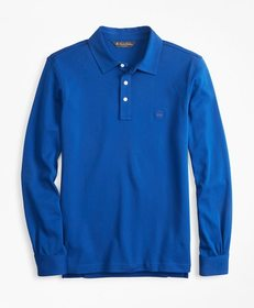 Brooks Brothers Slim Fit Cotton Jersey Long-Sleeve