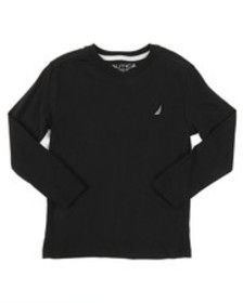 Nautica long sleeve v-neck tee (4-7)