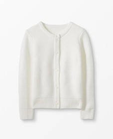 Hanna Andersson Classic Cardigan in Hanna White -