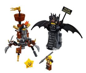 Lego Battle-Ready Batman™ and MetalBeard
