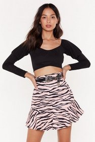Nasty Gal Womens Black Better Off-the-Shoulder Cro