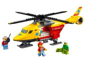 Lego Ambulance Helicopter
