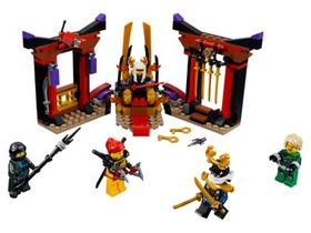 Lego Throne Room Showdown