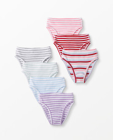 Hanna Andersson Hipster Unders 7 Pack In Organic C