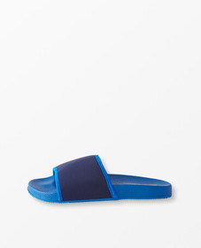 Hanna Andersson Sunny Day Slides in Navy/Baltic Bl