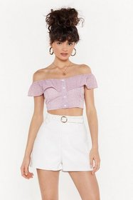 Nasty Gal Womens Lilac Stop Draggin' My Heart Arou
