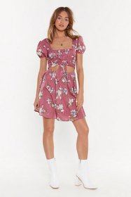 Nasty Gal Womens Dusty rose Ready for Happy Flower