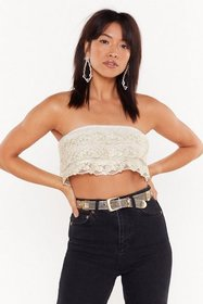 Nasty Gal Womens White Thanks Sew Much Embroidered