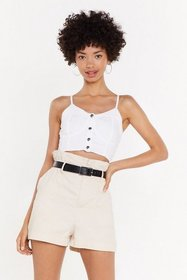 Nasty Gal Womens Cream Who Wants Yesterday's Paper