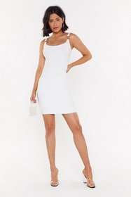 Nasty Gal Womens White Clip It in the Bud Buckle M