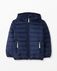 Hanna Andersson Superlight Down Jacket in Navy - m