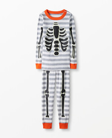 Hanna Andersson Glow-In-The-Dark Long John Pajamas