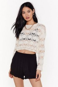 Nasty Gal Womens Black Frill Out High-Waisted Shor