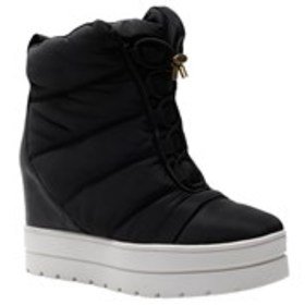 DONNA KARAN Womens Wedge Cold Weather Booties