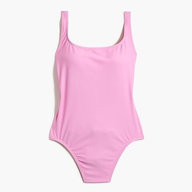 J. Crew Factory Scoopback one-piece swimsuit
