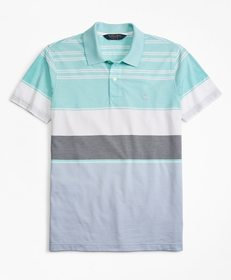 Brooks Brothers Original Fit Bold Stripe Polo Shir