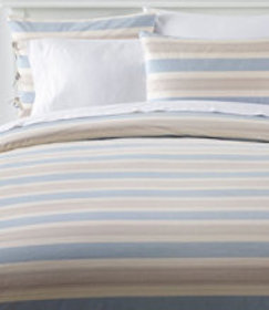 LL Bean Organic Cotton Comforter Cover Collection,