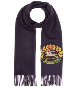 Burberry Embroidered cashmere scarf