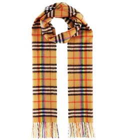 Burberry The Classic Rainbow cashmere scarf