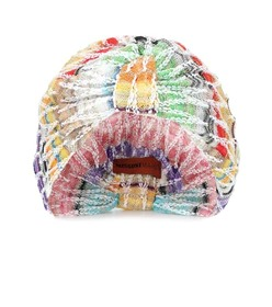 Missoni Mare Knitted cotton-blend turban