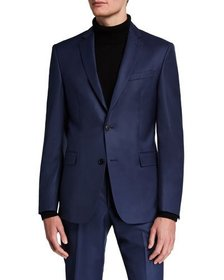 Versace Collection Men's Solid Wool Two-Piece Suit