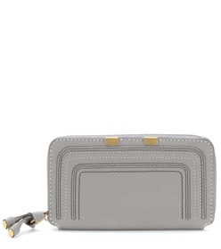 Chloé Marcie zip-around leather wallet