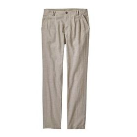 W's Island Hemp Pants - Short, Chambray: Shale (CH