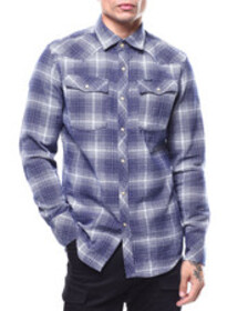 G-STAR 3301 slim bevis check l/s shirt