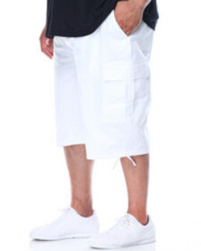 Buyers Picks belted cargo shorts (b & t)