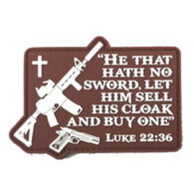 Patriot Patch Luke 22:36 Patch