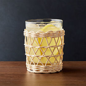 Crate Barrel New Cove 12-Ounce Double Old-Fashione