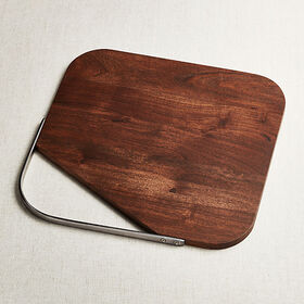 Crate Barrel Boyd Acacia Serving Board