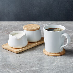 Crate Barrel New Merge Coffee Set