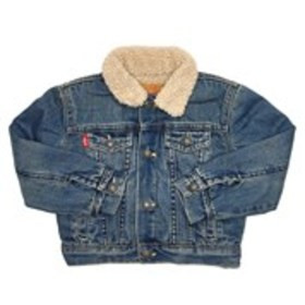 LEVI'S Baby Boys Faux Sherpa Lined Trucker Jacket