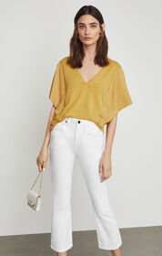 BCBG Cropped Stretch Jean