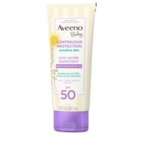 Aveeno Baby Continuous Protection Zinc Oxide Miner