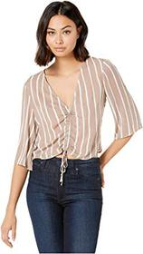 BCBGeneration Front Drawstring Top TFR1214152