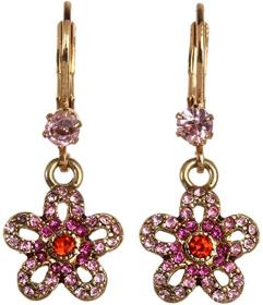 Betsey Johnson Pink/Antique Gold