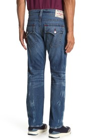 True Religion Ricky Flap Pocket Straight Jeans