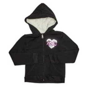 XOXO Toddler Girls Sequin Zip-Up Hoodie (2T-4T)