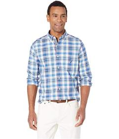 Nautica Casual Plaid Long Sleeve Shirt