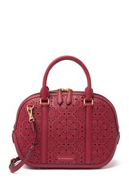 Burberry Orchard Perforated Satchel