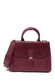 Burberry Ostrich Leather Satchel