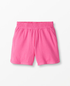 Hanna Andersson Everyday Play Shorts in Power Pink
