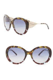 Burberry 'Trench Knot' 57mm Oversized Sunglasses