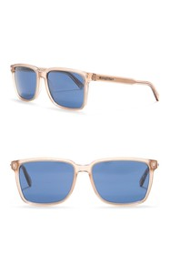 Ermenegildo Zegna Square 56mm Sunglasses