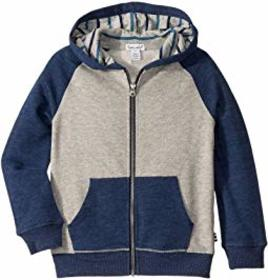 Splendid Littles Yarn-Dyed Stripe Lined Hoodie Jac