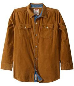 Levi's® Kids Western Corduroy Shirt (Big Kids
