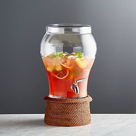Crate Barrel Elsey 3 Gallon Drink Dispenser with A