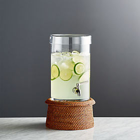 Crate Barrel Cold Drink Dispenser with Artesia Hon
